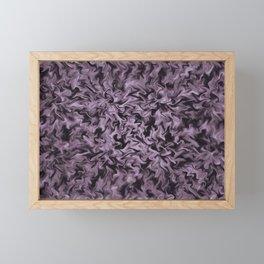 Black Fire Framed Mini Art Print