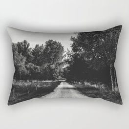 path in the nature Rectangular Pillow