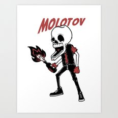 Molotov Art Print