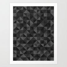 Shapes 003 Ver 3 Art Print