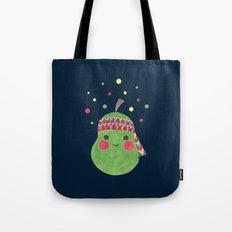 Hippie Pear Tote Bag