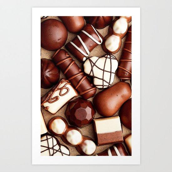 CHOCOLATES BOX for IPhone Art Print