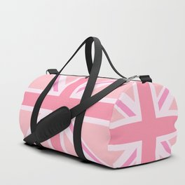 Pink Union Jack/Flag Design Duffle Bag