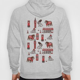 London English Bulldog Hoody