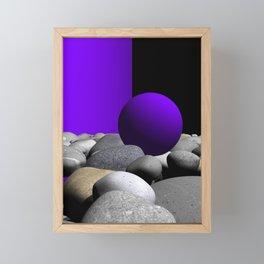 go violet -09- Framed Mini Art Print