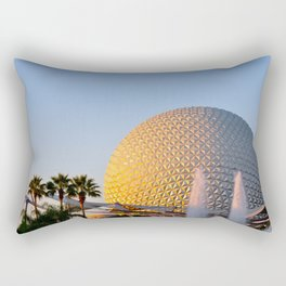 Epcot Ball Rectangular Pillow