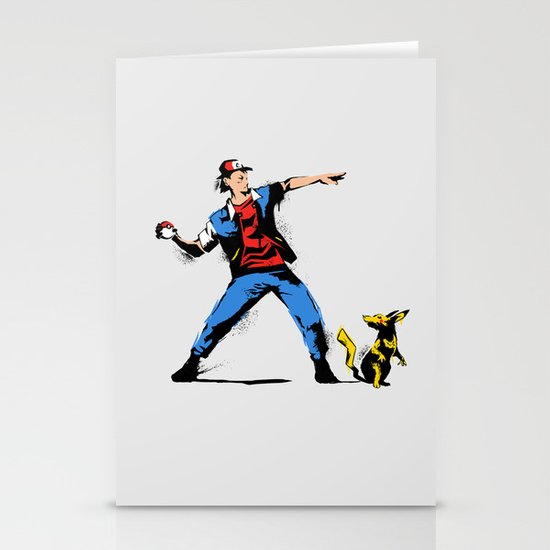 Gotta Catch em all  Stationery Cards