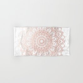 Pleasure Rose Gold Hand & Bath Towel