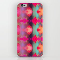 Watercolor Ikat iPhone & iPod Skin