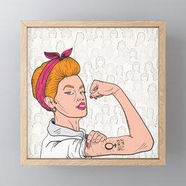 Unity Ahead Framed Mini Art Print