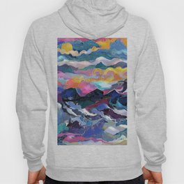 Montain Sunrise Hoody