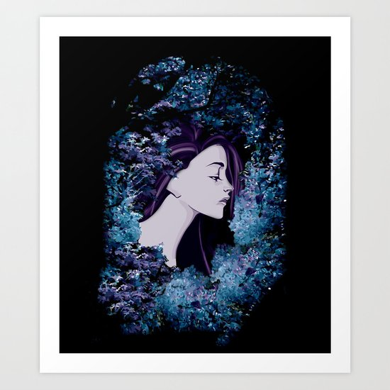 The Colorful Unknown Art Print