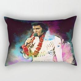 Elvis The King Rectangular Pillow