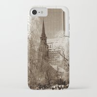 boston iPhone & iPod Cases featuring Boston by Raymond Earley