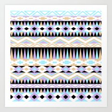 Pattern Play Art Print
