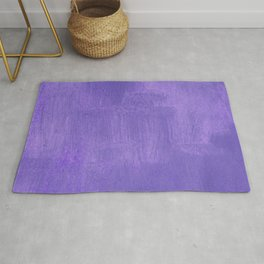 Violet Painted Wall Texture Rug