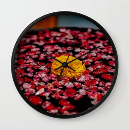 A Marigold In Indonesia Wall Clock