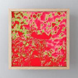 Bright Fire Framed Mini Art Print