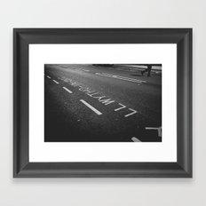 wales Framed Art Print