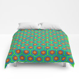 poly pattern delux Comforters