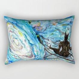 AI: Visiting supernatural skies. Rectangular Pillow