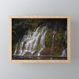 La Calera Waterfalls II Framed Mini Art Print