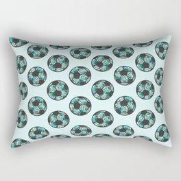 The Soccer Girl Rectangular Pillow