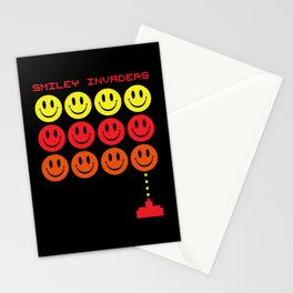 Smile Invaders Gaming Quote Stationery Cards