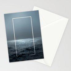 Twilight Geometry Stationery Cards