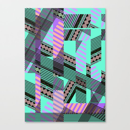 ELECTRIC TUNELS /// Canvas Print
