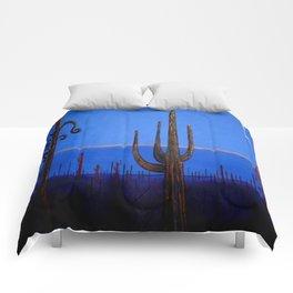 Night in the desert Comforters