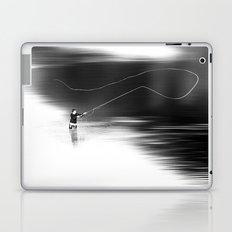 A river runs through it. (dotted) Laptop & iPad Skin