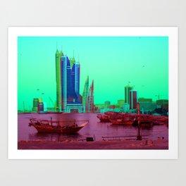 BFH, bahrain Art Print