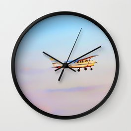 Taking to the Skys Wall Clock