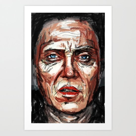 Walken Art Print