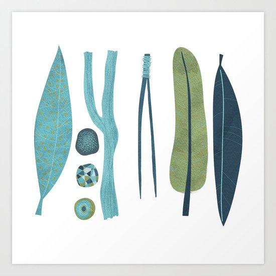 Sticks and Stones Art Print