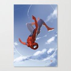 Web Head Canvas Print