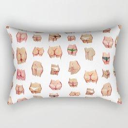 butts for everyone Rectangular Pillow
