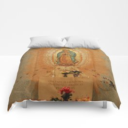 Our Lady of Guadalupe Comforters