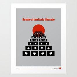 CUBA: Rumbo al Territorio Liberado (Toward a Liberated Territory) Art Print