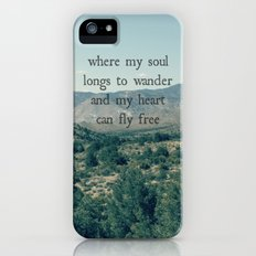 Where My Soul Longs to Wander iPhone (5, 5s) Slim Case