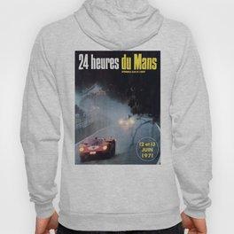 Le Mans poster, 1971, Le Mans t shirt, vintage car poster Hoody