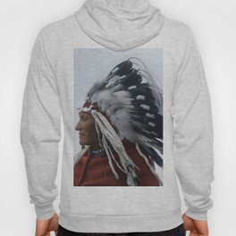 Lazy Boy - Blackfoot Indian Chief Hoody