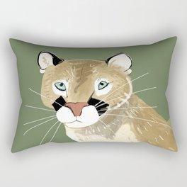 Caturday Puma Rectangular Pillow