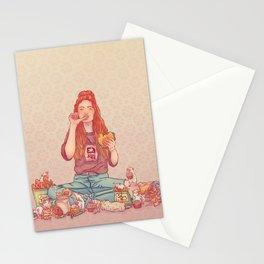Signe du rat Stationery Cards