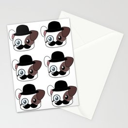 Mustache Stationery Cards