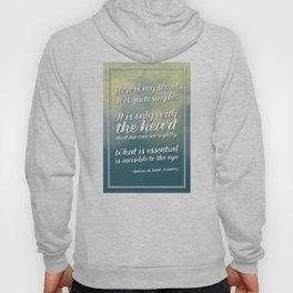 """Here is my secret"" Quote Hoody"