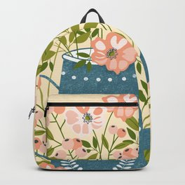 Happy Birds Making Things Beautiful Together Backpack