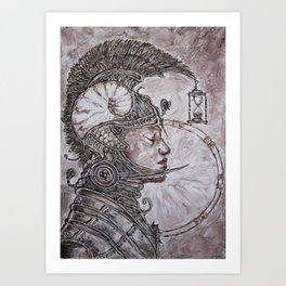 time warrior Art Print