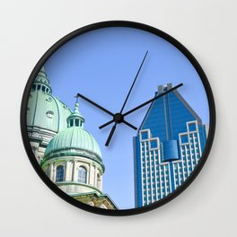 Cathedral-Basilica of Mary, Queen of the World in Montreal Wall Clock
